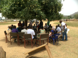 Mustard Seed meeting with the community