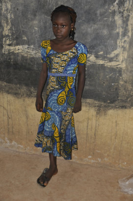 She lost her leg in an accident. Benefitted from MSO educational support