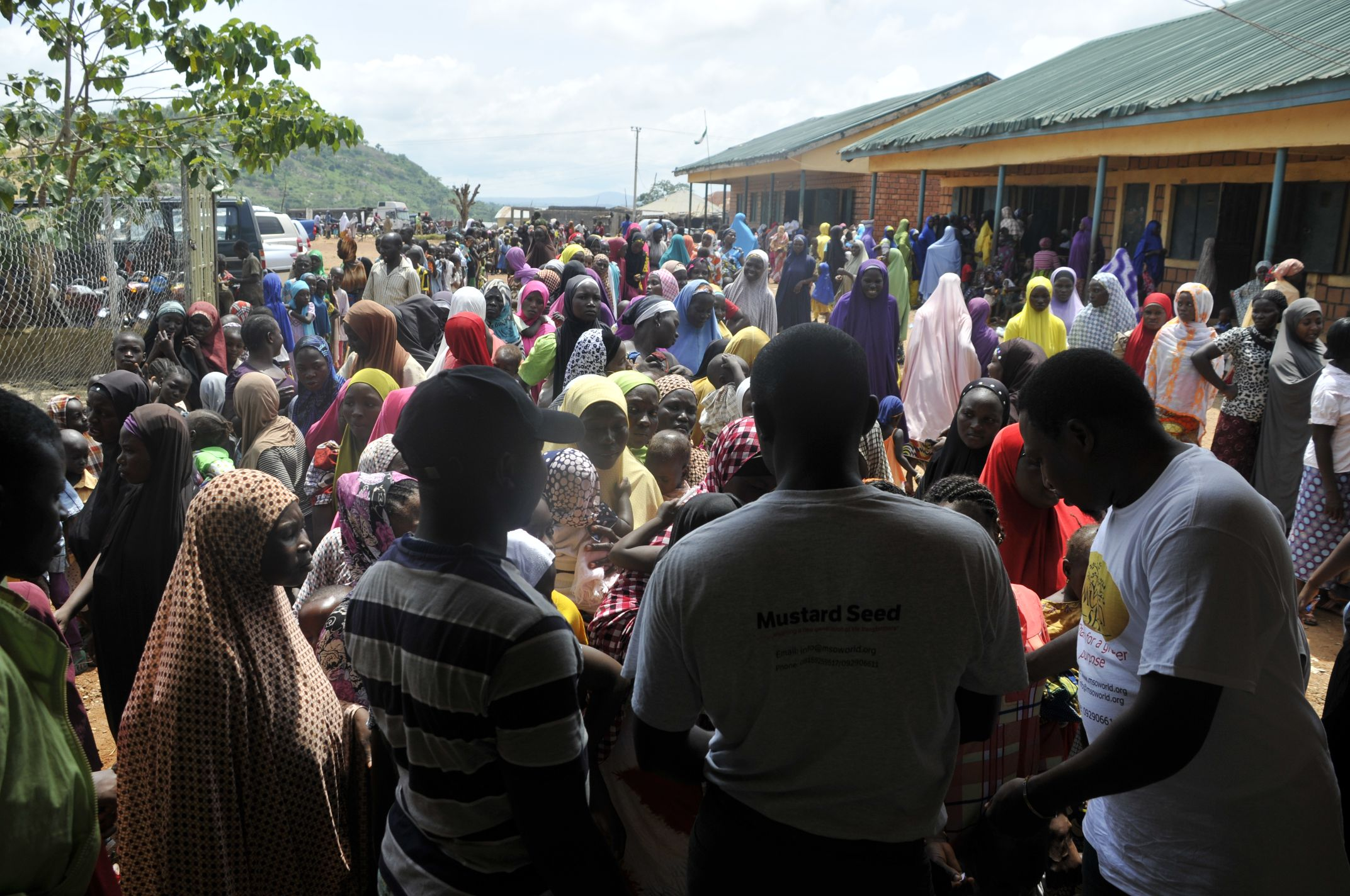 people attending a medical mission